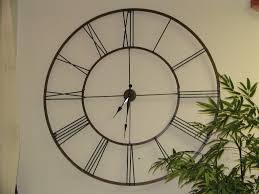 clock design modern kitchen decor