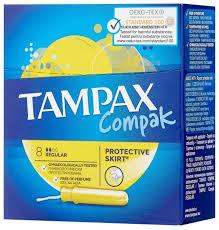 <b>TAMPAX тампоны Compak</b> Regular — купить по выгодной цене ...