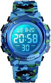 Digital <b>Watch</b> for Boys, <b>Waterproof Sport Watch</b> Children <b>Watches</b> ...