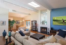 room rectangle living combo modern