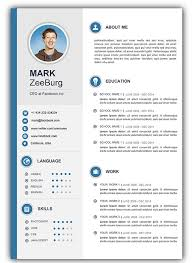free simple  amp  easy to edit resume templates for wordresume template for word