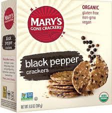 Mary's Gone Crackers <b>Black Pepper Crackers</b> - <b>6.5</b>oz Carton ...