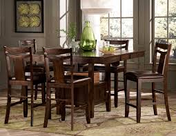 Tall Dining Room Sets Tall Dining Room Chairs Is Also A Kind Of Dining Room Modern Black