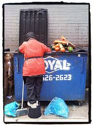 would you dumpster dive for food