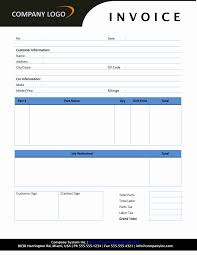 consultant invoice wordtemplates net auto repair invoice