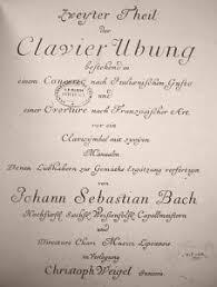 J. S. <b>Bach</b>: The Clavier-Übung II (BWV 971 and 831)