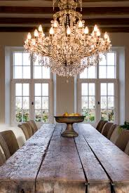 someday i will i have a farmhouse style dining room table and put a super fancy chandelier style dining room lighting