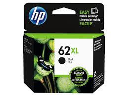 HP <b>62XL</b> High Yield Black Original <b>Ink Cartridge</b> (C2P05AN#140)