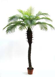 8' <b>Artificial Phoenix Palm Tree</b> 8ft Plant Date Sago Pool Deck ...
