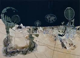 Histories of Land  Economy  and Power     London      Dubai  Aerial View