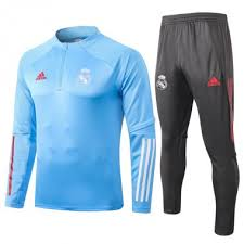 * 2020-21 <b>Real Madrid blue</b> Training Suit - $35.00 : Mrdeerkits.com