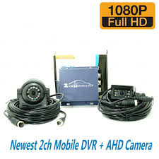 hot sale newest support ahd camera 1ch mobile dvr for car cameras