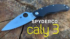 <b>Spyderco Caly 3</b> Quick Look - YouTube
