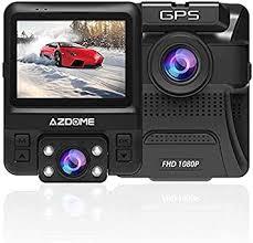 Dual Dash Cam Front and Inside, AZDOME Dash ... - Amazon.com