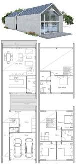 Small House Plan   Small House Plans   Pinterest   Small House    Floor Plan from ConceptHome com