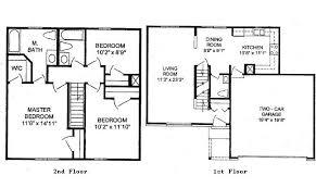 bedroom house plans story homedesign