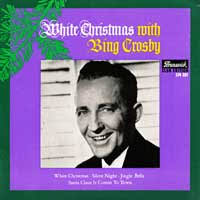 White Christmas with Bing Crosby. White Christmas / Silent Night Jingle Bells / Santa Claus Is Coming To Town. Hülle: Club Edition 574 001. Platte: 574 001 - Bing-Crosby
