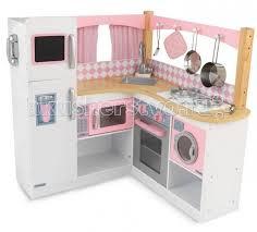 <b>KidKraft Большая детская кухня</b> из дерева для девочек ...
