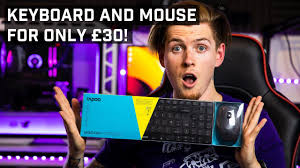 £30 for <b>a wireless keyboard and</b> mouse ? Rapoo 9300M - YouTube