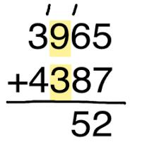 Image result for adding 4 digits