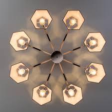Потолочная люстра в цвете <b>хром</b> с абажурами цоколь Е14 IP20 ...