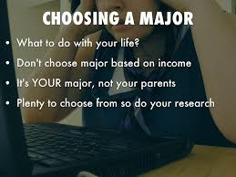 college 101 final by dylan hudson choosing a major