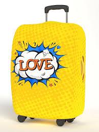 <b>Чехол</b> для чемодана, Размер S 50*55 см, серия <b>Happy</b> Valentina's ...