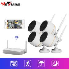 2019 <b>Wetrans</b> Mini WiFi <b>CCTV</b> Camera 1080P Security <b>System</b> Kit ...