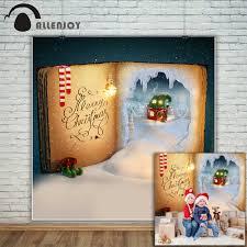 <b>Allenjoy photography backdrop</b> Christmas <b>books</b> Elven House ...