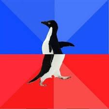 Socially Awkward to Awesome Penguin - caption | Meme Generator via Relatably.com
