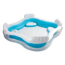 <b>Надувной бассейн INTEX</b> 56475 Фэмили 229х229х66 см, от 3 лет ...