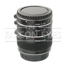 <b>Кольца</b> удлинительные <b>Falcon Eyes</b> C-AF для Canon EF 12/20 ...