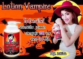 Image result for lotion vampire