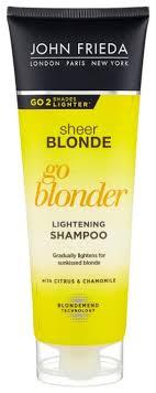 John Frieda <b>шампунь</b> Sheer Blonde Go Blonder осветляющий для ...