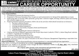 lwmc jobs manager business development