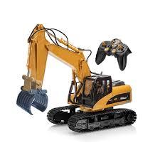 HUINA 570 Alloy Wood Catcher <b>RC</b> Car 2.4G <b>RC</b> Excavator 16 ...