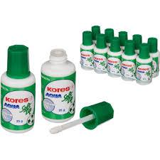 <b>Корректирующая жидкость</b> (штрих) <b>Kores Soft</b> Tip Aqua водная 25 ...
