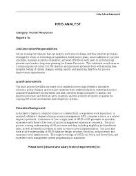 hris analyst job description hashdoc hris analyst job description hr analyst resume