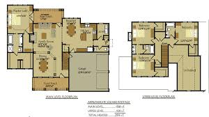 Bedroom Country Cottage House Plan by Max Fulbright DesignsChattahoochee River House Floor Plans