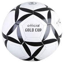 <b>Футбольный</b> мяч <b>Gratwest</b> Official Gold Cup Т18135 №5 white/black
