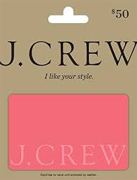 Amazon.com: J.Crew Gift Card $50: Gift Cards