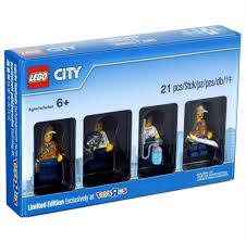 LEGO City 5004940 Limited Edition Toysrus 4 <b>Mini</b> Figures <b>21 Pcs</b> ...
