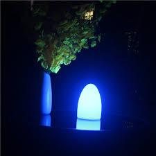 <b>D10*H15cm</b> Romantic Rechargeable 16 Color <b>Egg</b> Shape <b>Led</b> ...