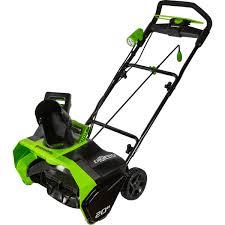 Снегоуборщик аккумуляторный <b>Greenworks GD40SB 40</b> В, 2 ...
