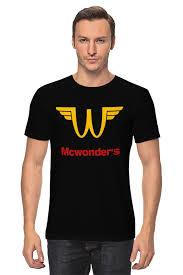 <b>Детская футболка классическая</b> унисекс <b>printio</b> workout mcdonalds