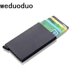<b>Weduoduo New Credit</b> Card Holder Automatically Business Card ...