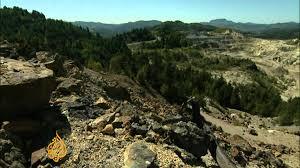 Romanians oppose gold mining plan - YouTube