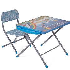 Комплект детской <b>мебели Фея Досуг</b> 101 (Алфавит и цифры ...