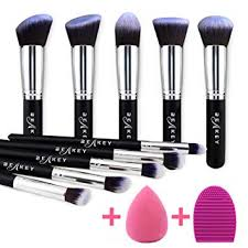 BEAKEY Makeup Brush Set, Premium Synthetic ... - Amazon.com