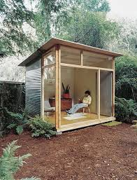 backyard studio office this could be our little away from home backyard retreat backyard office pod cuts